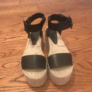 Vince Abby Platform Leather Sandals